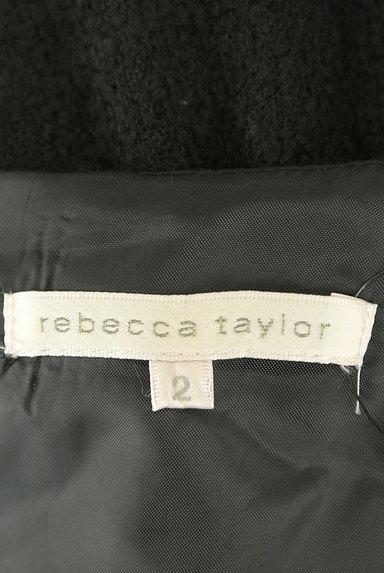 REBECCA TAYLOR(レベッカテイラー)の古着「膝丈フレア起毛ワンピース(ワンピース・チュニック)」大画像6へ