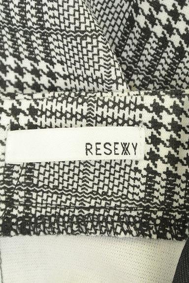 RESEXXY(リゼクシー)の古着「膝下丈チェック柄タイトスカート(スカート)」大画像6へ