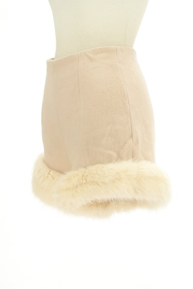 Lily Brown(リリーブラウン)の古着「裾ファーハイウエストショートパンツ(ショートパンツ・ハーフパンツ)」大画像3へ