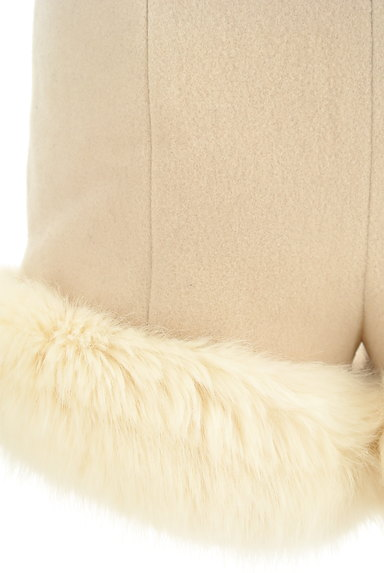 Lily Brown(リリーブラウン)の古着「裾ファーハイウエストショートパンツ(ショートパンツ・ハーフパンツ)」大画像5へ