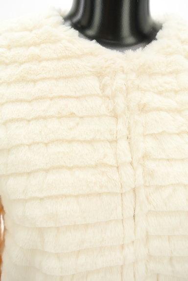 DURAS(デュラス)の古着「エコファーノーカラーショートコート(コート)」大画像4へ