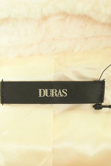 DURAS(デュラス)の古着「エコファーノーカラーショートコート(コート)」大画像6へ