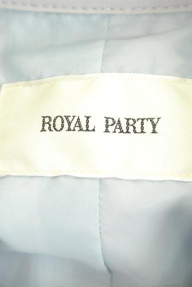 ROYAL PARTY(ロイヤルパーティ)の古着「ロングトレンチコート(トレンチコート)」大画像6へ
