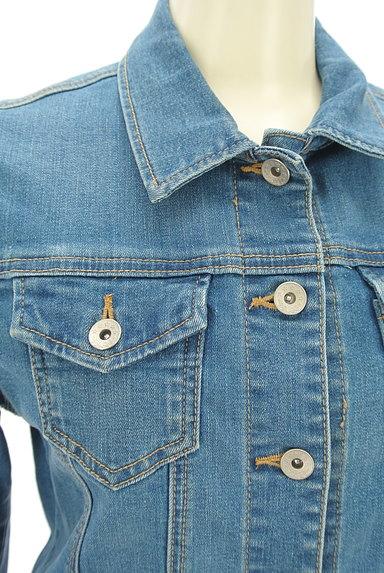 NATURAL BEAUTY BASIC(ナチュラルビューティベーシック)の古着「シンプルGジャン(ジャケット)」大画像4へ