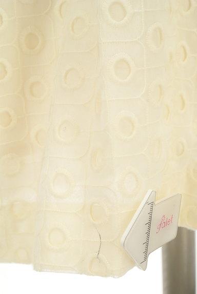 INED(イネド)の古着「膝下丈カットワーク刺繍ワンピ(ワンピース・チュニック)」大画像5へ