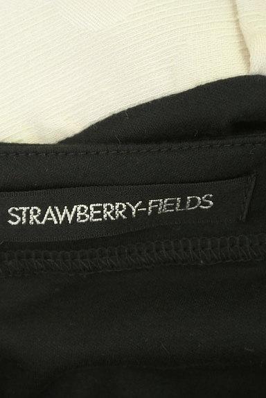 STRAWBERRY-FIELDS(ストロベリーフィールズ)の古着「バイカラーフレンチスリーブワンピ(ワンピース・チュニック)」大画像6へ
