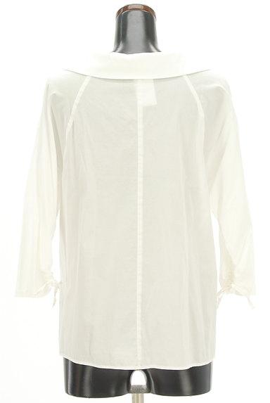 VICKY(ビッキー)の古着「オープンカラードロスト袖シャツ(カットソー・プルオーバー)」大画像2へ