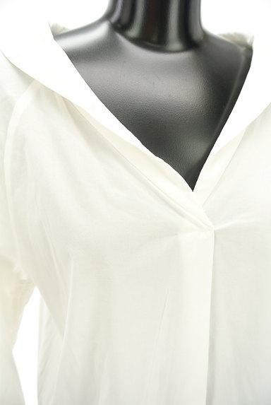 VICKY(ビッキー)の古着「オープンカラードロスト袖シャツ(カットソー・プルオーバー)」大画像4へ