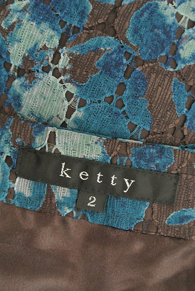 ketty(ケティ)の古着「花柄レースフレアスカート(スカート)」大画像6へ