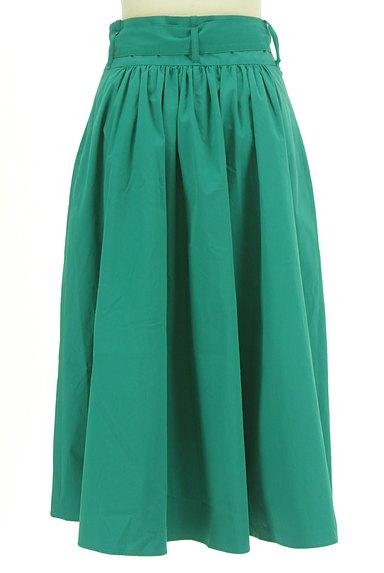 LAUTREAMONT(ロートレアモン)の古着「ウエストリボン膝下丈フレアスカート(スカート)」大画像2へ