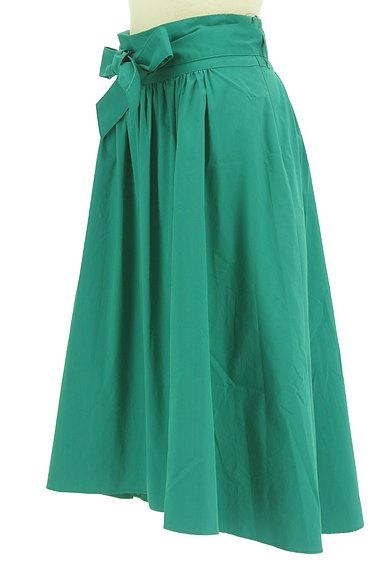 LAUTREAMONT(ロートレアモン)の古着「ウエストリボン膝下丈フレアスカート(スカート)」大画像3へ