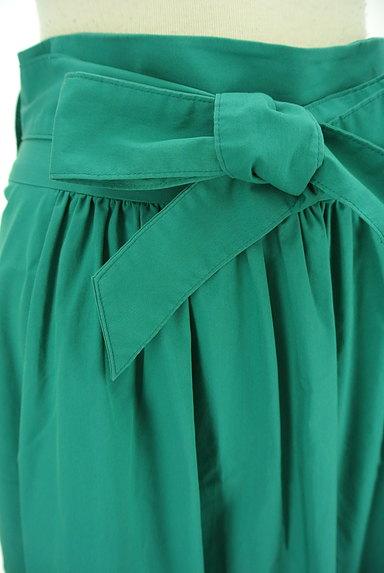 LAUTREAMONT(ロートレアモン)の古着「ウエストリボン膝下丈フレアスカート(スカート)」大画像4へ