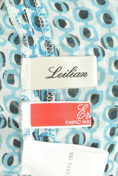 LEILIAN(レリアン)の古着「総柄フレンチシフォンカットソー(カットソー・プルオーバー)」大画像6へ