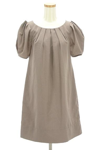 BEAMS Women's(ビームス ウーマン)の古着「タックバルーン袖ワンピース(ワンピース・チュニック)」大画像1へ