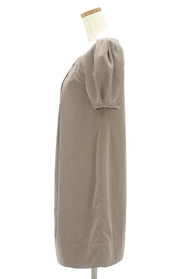 BEAMS Women's(ビームス ウーマン)の古着「タックバルーン袖ワンピース(ワンピース・チュニック)」大画像3へ