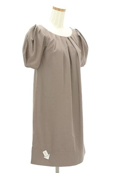 BEAMS Women's(ビームス ウーマン)の古着「タックバルーン袖ワンピース(ワンピース・チュニック)」大画像4へ