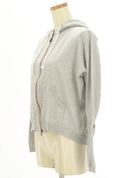 Jocomomola(ホコモモラ)の古着「刺繍入りジップアップスウェットパーカー(スウェット・パーカー)」大画像3へ