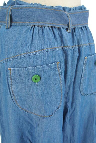 Jocomomola(ホコモモラ)の古着「ダミーポケット付きデニムワイドパンツ(デニムパンツ)」大画像5へ