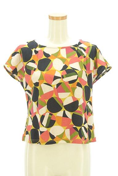 Jocomomola(ホコモモラ)の古着「レトロなコンパクトカットソー(カットソー・プルオーバー)」大画像1へ