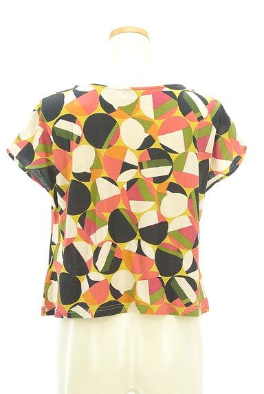Jocomomola(ホコモモラ)の古着「レトロなコンパクトカットソー(カットソー・プルオーバー)」大画像2へ