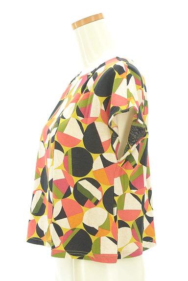 Jocomomola(ホコモモラ)の古着「レトロなコンパクトカットソー(カットソー・プルオーバー)」大画像3へ
