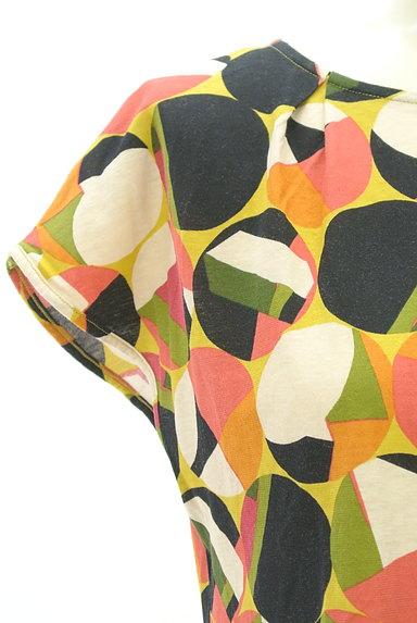 Jocomomola(ホコモモラ)の古着「レトロなコンパクトカットソー(カットソー・プルオーバー)」大画像4へ
