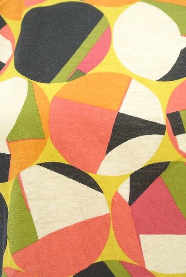 Jocomomola(ホコモモラ)の古着「レトロなコンパクトカットソー(カットソー・プルオーバー)」大画像5へ
