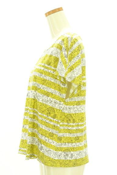 Jocomomola(ホコモモラ)の古着「手描きイラストたっぷりカットソー(カットソー・プルオーバー)」大画像3へ