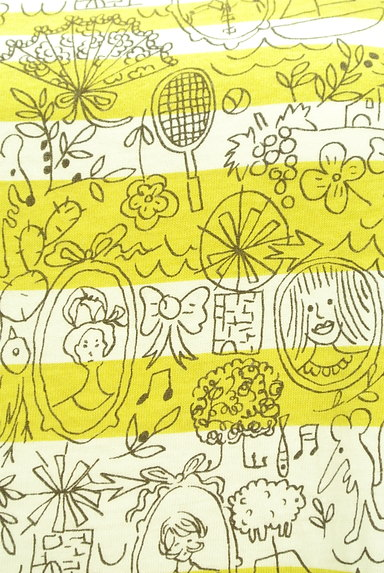 Jocomomola(ホコモモラ)の古着「手描きイラストたっぷりカットソー(カットソー・プルオーバー)」大画像4へ
