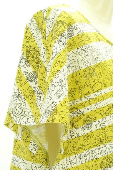 Jocomomola(ホコモモラ)の古着「手描きイラストたっぷりカットソー(カットソー・プルオーバー)」大画像5へ