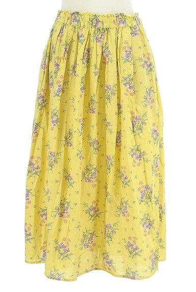 SM2(サマンサモスモス)の古着「ふわっと広がる花柄スカート(スカート)」大画像1へ