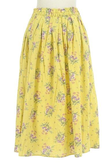 SM2(サマンサモスモス)の古着「ふわっと広がる花柄スカート(スカート)」大画像2へ