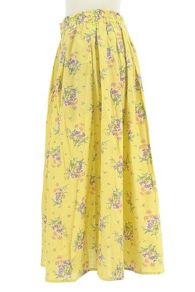SM2(サマンサモスモス)の古着「ふわっと広がる花柄スカート(スカート)」大画像3へ