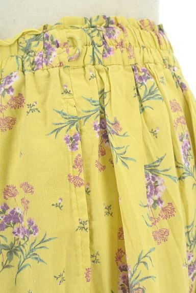SM2(サマンサモスモス)の古着「ふわっと広がる花柄スカート(スカート)」大画像4へ