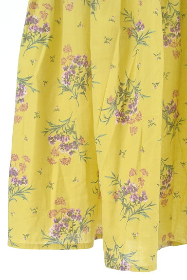 SM2(サマンサモスモス)の古着「ふわっと広がる花柄スカート(スカート)」大画像5へ