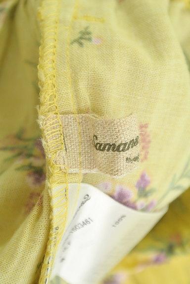 SM2(サマンサモスモス)の古着「ふわっと広がる花柄スカート(スカート)」大画像6へ