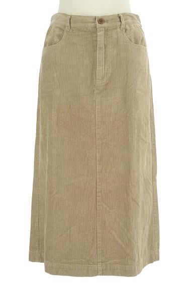 SM2(サマンサモスモス)の古着「大人ミモレコーデュロイスカート(ロングスカート・マキシスカート)」大画像1へ