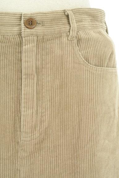 SM2(サマンサモスモス)の古着「大人ミモレコーデュロイスカート(ロングスカート・マキシスカート)」大画像4へ