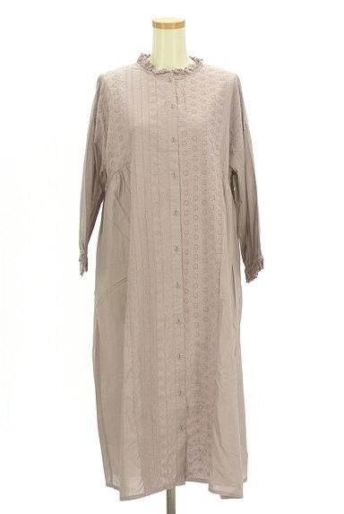 SM2(サマンサモスモス)の古着「刺繍たっぷりギャザーマキシワンピ(ワンピース・チュニック)」大画像1へ