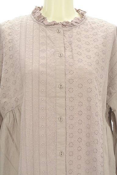 SM2(サマンサモスモス)の古着「刺繍たっぷりギャザーマキシワンピ(ワンピース・チュニック)」大画像4へ