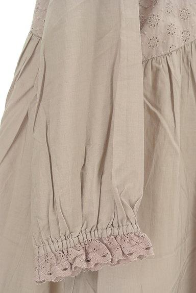 SM2(サマンサモスモス)の古着「刺繍たっぷりギャザーマキシワンピ(ワンピース・チュニック)」大画像5へ
