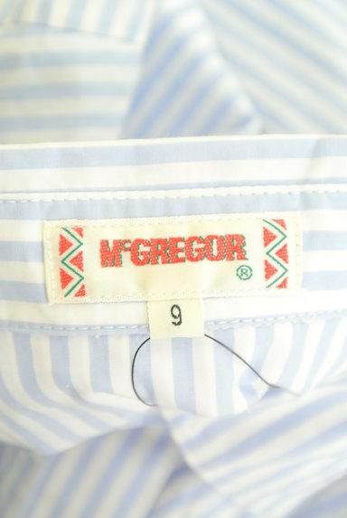 McGREGOR(マックレガー)の古着「涼し気ストライプロングブラウス(ブラウス)」大画像6へ