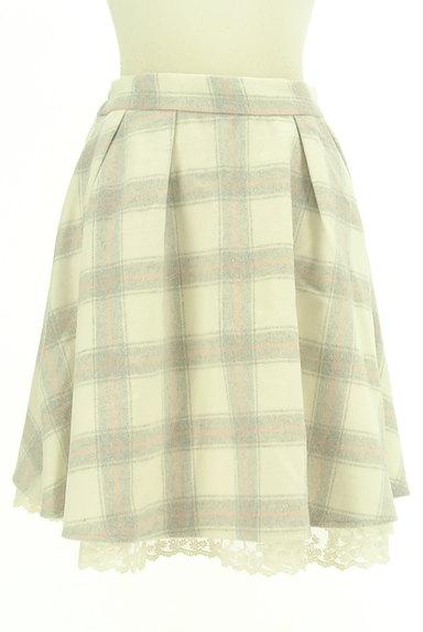 LODISPOTTO(ロディスポット)の古着「あったかチェックのフレアスカート(スカート)」大画像1へ