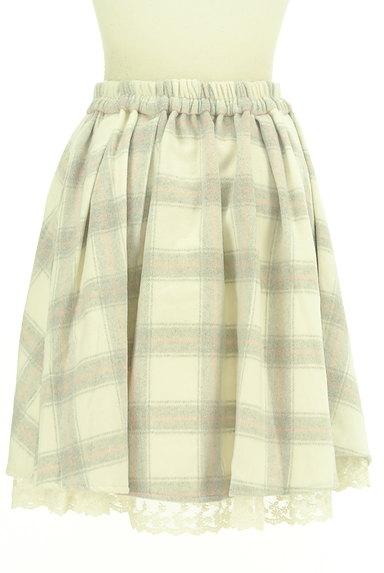 LODISPOTTO(ロディスポット)の古着「あったかチェックのフレアスカート(スカート)」大画像2へ