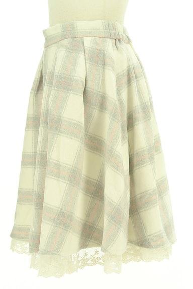 LODISPOTTO(ロディスポット)の古着「あったかチェックのフレアスカート(スカート)」大画像3へ