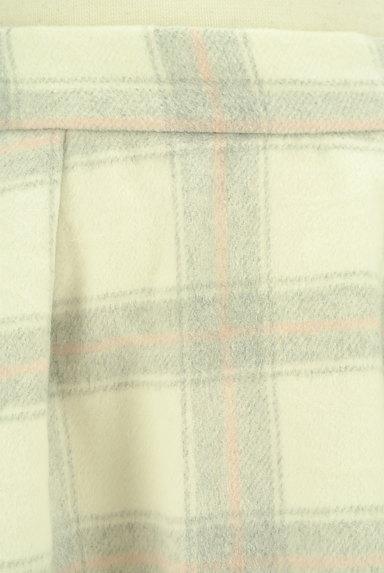 LODISPOTTO(ロディスポット)の古着「あったかチェックのフレアスカート(スカート)」大画像4へ