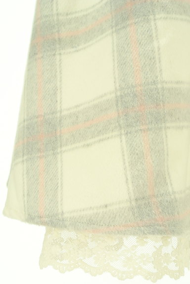 LODISPOTTO(ロディスポット)の古着「あったかチェックのフレアスカート(スカート)」大画像5へ