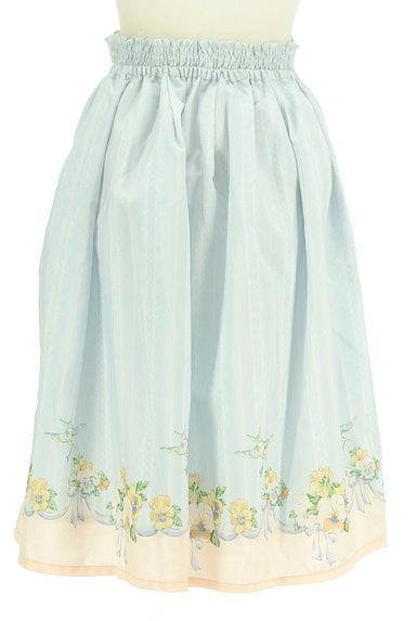 axes femme(アクシーズファム)の古着「1枚でガーリーなストライプスカート(ロングスカート・マキシスカート)」大画像2へ
