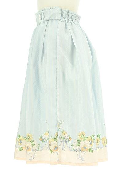 axes femme(アクシーズファム)の古着「1枚でガーリーなストライプスカート(ロングスカート・マキシスカート)」大画像3へ