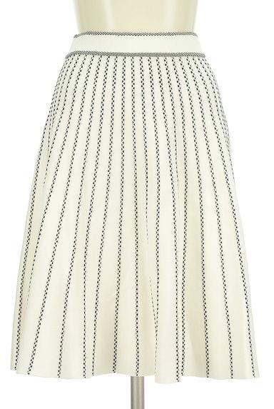 Rirandture(リランドチュール)の古着「花刺繍トップス+ストライプ柄ニットスカート(セットアップ(ジャケット+スカート))」大画像5へ